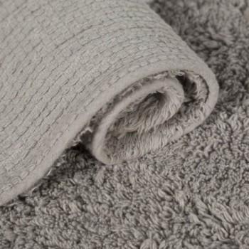Manta Wool Blankets Flowers Rosa-Gris/Pink-Grey