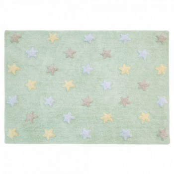 Tricolor Star Soft/Mint