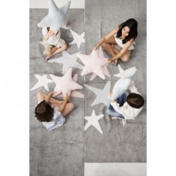 White Messy Stars Azul-Marino/Blue Navy