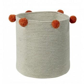 Basket Natural Terracota