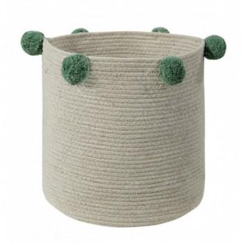 Basket Natural Green