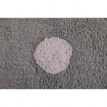Dots Linen/Dark Grey