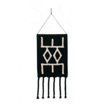 Wall Hanging Bereber Black