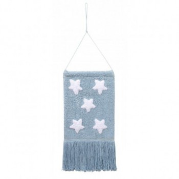 Wall Hanging  Stars  Blue