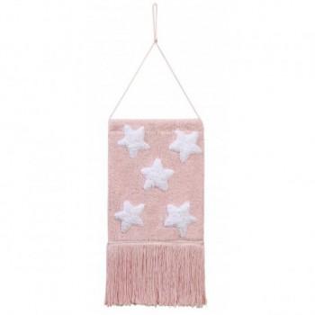 Wall Hanging  Stars Pink
