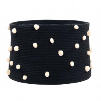 Basket Pebbles Black