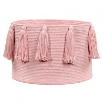 Basket Tassels Pink