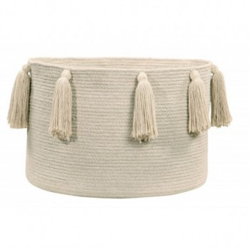 Basket Tassels Natural