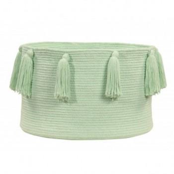 Basket Tassels Soft Mint