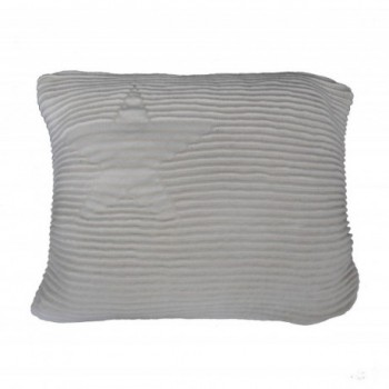 Cushion Hippy Stars Grey