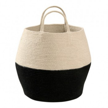 Basket Zoco Black/Natural