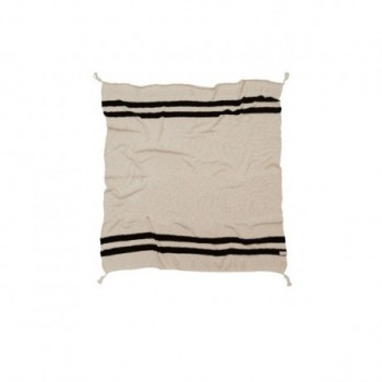 Blanket Stripes Natural/Black