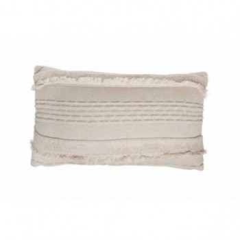 Knitted Cushion Air Dune White