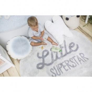 Knitted Cushion Air Dune White