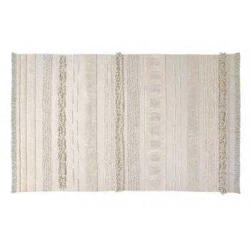 Bawełniany dywan do prania w pralce Air Natural XL marki Lorena Canalas