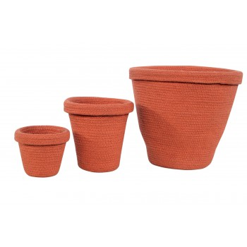Pot Baskets Terracota Set...