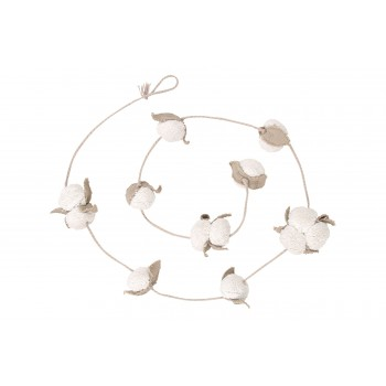 Girlanda Garland Cotton Bolls
