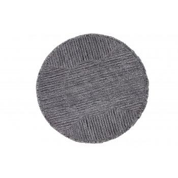 Wełniany dywan do prania w pralce Black Tea od Lorena Canals