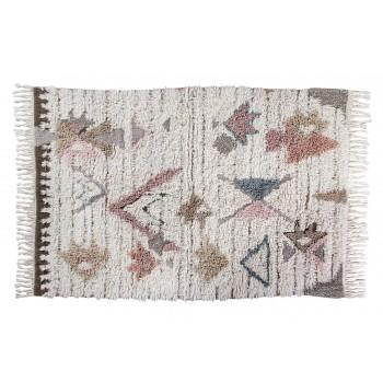 Wełniany dywan do prania w pralce Tuba Medium od Lorena Canals