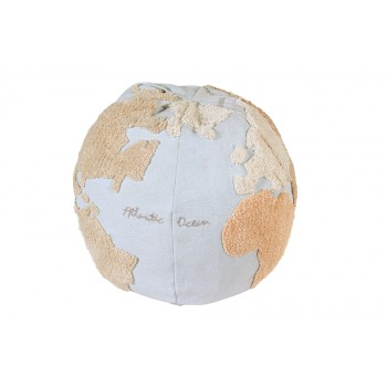 Pouf World Map