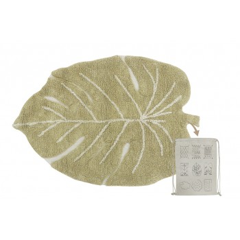 Washable Rug Mini Monstera...