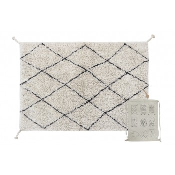 Washable Rug Mini Bereber...
