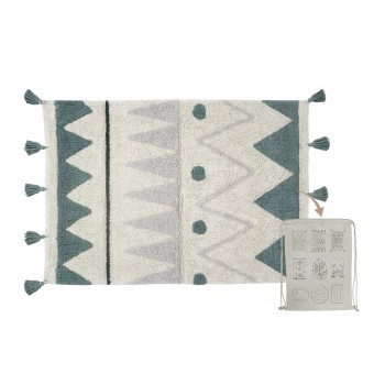 Washable Rug Mini Azteca...