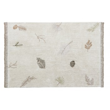 Washable Rug Pine Forest L...