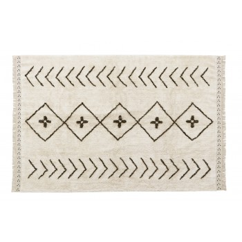 Washable Rug Bereber Rhombs...