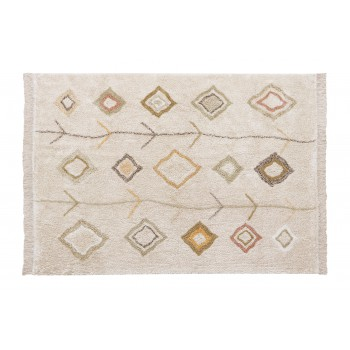 Washable Rug Kaarol Earth L...