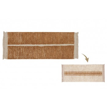 Washable Rug Duetto Toffee...