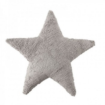 Cushion Estrella Gris Claro