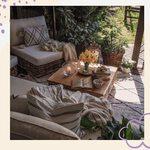 Udanej MAJÓWKI! ☀️💕😊  #dlugiweekend #maj #majówka #odpoczynek #taras #dodatkidodomu #dywanylorenacanals #dywan #lorenacanals #mojdom #budujemydom #mójogród #balkon #washablerugs #interiordesign #homedecor #balconydecor #ogród #domoweinspiracje #relaks