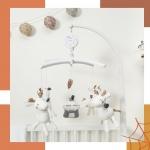 Karuzelki francuskiej matki Sauthon to nasz bestseller! ✨ Ułatwią zasypianie Twojemu maluchowi!  Dostępne w różnych wzorach i kolorach ❤️🧡💛💚💙  #sauthon #karuzelka #karuzelkadladziecka #pokojdziecka #kidsroom #pokojmaluszka #roominspiration #łóżeczko