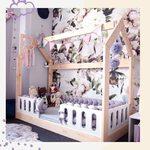 Łóżko domek z barierkami od @pinio_meble 💜 Jak Wam się podoba taka aranżacja pokoju dla dziewczynki? 😊  #pokojdziecka #pokojdziewczynki #pokojchlopca #mojemieszkanie #kidsroomdecor #kidsroominspiration #forkids #bedroom #homedecor #lozkodomek #łóżkodziecięce #rozowypokoj #drewno #drewnianemeble #majowka #wiosna2021 #rodzew2021 #mamabyc #dladzieci #dladomu #mebledziecięce